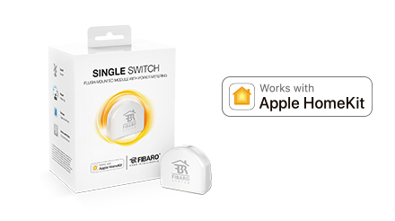 FIBARO Single Switch för HomeKit